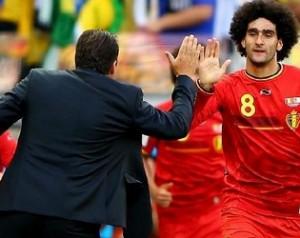 Fellaini góllal segítette Belgiumot