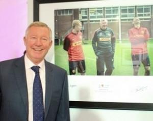 Galéria: Sir Alex és az UNICEF