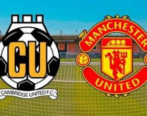 Beharangozó: Cambridge United - Manchester United