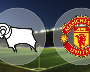 Derby County 0-3 Manchester United