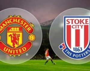 Manchester United 3-0 Stoke City