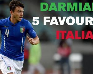Darmian öt kedvenc olasz játékosa