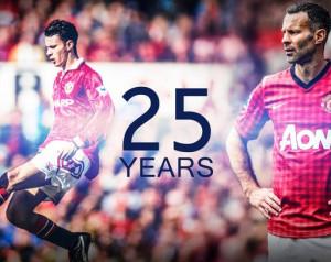 Ryan Giggs: 25 év a Manchester Unitednél