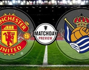 Manchester United 1-0 Real Sociedad