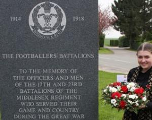 A United tisztelettel adózik Somme elõtt