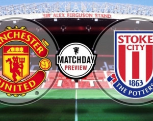 Manchester United 3-2 Stoke City