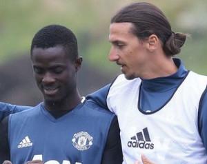 Zlatan elõször edzett a csapattal