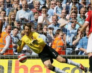 A United derbi-hõsei: Edwin van der Sar