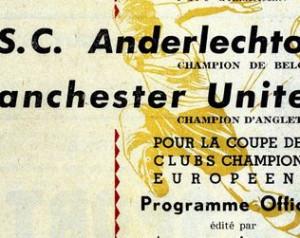 60 éve játszotta a United elsõ európai kupamérkõzését