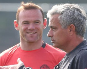 Mourinho elmagyarázta, miért hagyta otthon Rooneyékat
