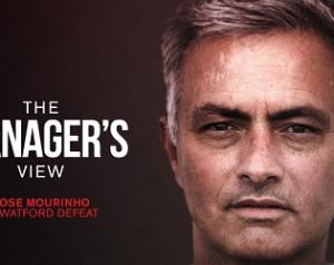 Mourinho reakciója a vereségre