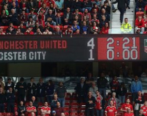 A United lenyûgözõ hazai rekordja bajnokok ellen