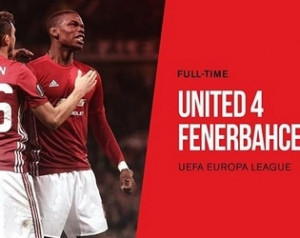 Manchester United 4-1 Fenerbahce