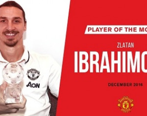 Zlatan lett december legjobbja