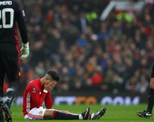 Mourinho reakciója Rojo sérülésére