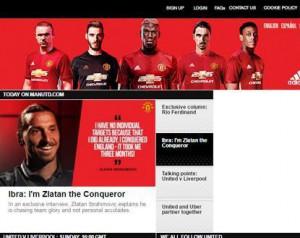 A Unitedé a leglátogatottabb hivatalos oldal