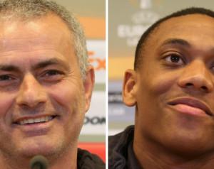 Mourinho és Martial is felkészült a katlanra
