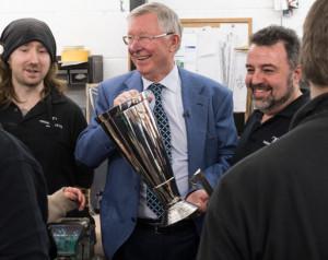 Trófeát neveztek el Sir Alex Fergusonról