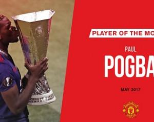Pogba lett a hónap játékosa