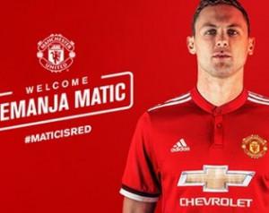 Hivatalos: Matic a Unitedé