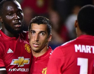 Mourinho és Mkhitaryan jól megértik egymást