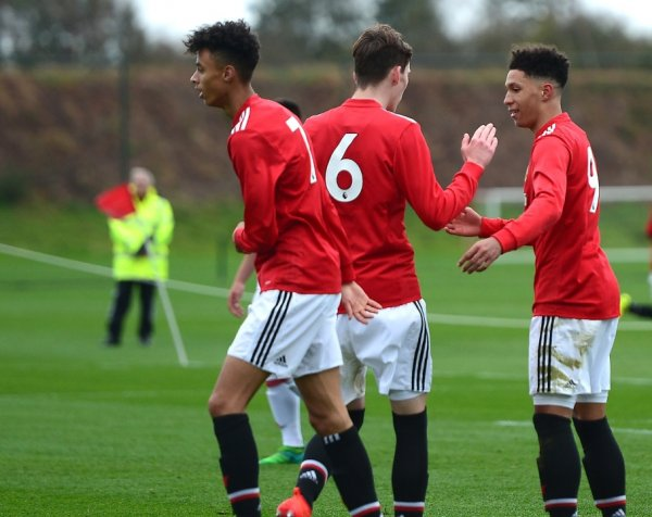 U18: United 6-2 Middlesbrough
