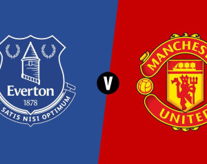Everton 0-2 Manchester United