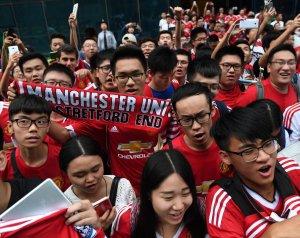 Kínában a United a legnépszerűbb klub