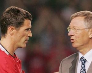 Sir Alex Ferguson - Önéletrajz, 9. fejezet - Roy Keane