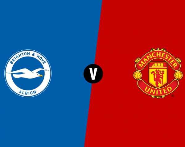 Brighton & Hove Albion 3-2 Manchester United