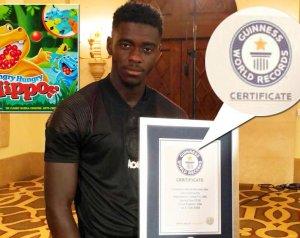 Tuanzebe Guinness-rekordot döntött