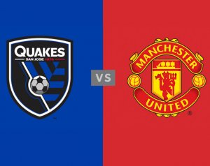 San Jose Earthquakes 0-0 Manchester United