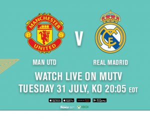 Manchester United 2-1 Real Madrid
