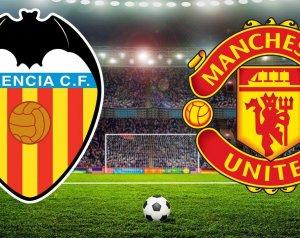 Valencia 2-1 Manchester United