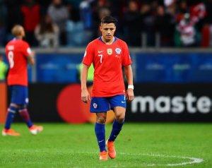 Sanchez megsérült a Copa Americán