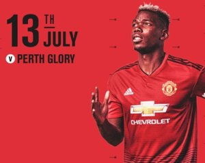 Manchester United 2-0 Perth Glory