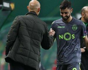 A Sporting menedzsere felkészült Bruno Fernandes távozására