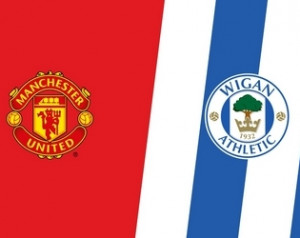 Manchester United - Wigan Athletic: Beharangozó