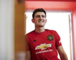 Maguire első Unitedes interjúja