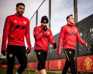 Három visszatérő a United edzésén