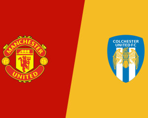 Manchester United 3-0 Colchester United