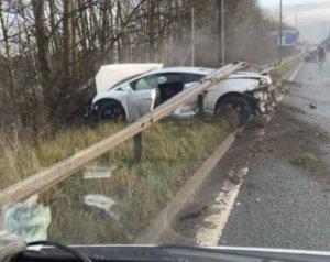 Romero autóbalesetet szenvedett