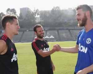 Juan Mata top csapattársai