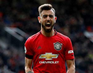 Brunóval az élen a United