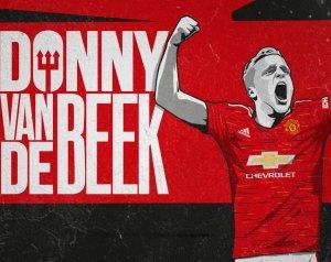 Hivatalos: Donny van de Beek a Unitedé