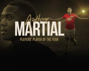 Játékosok Játékosa 2019/20: Anthony Martial