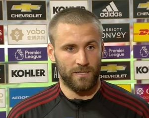 Shaw reakciója a Spurs elleni vereségre