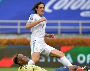 Cavani gólt szerzett hazája válogatottjában