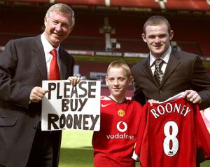 Rooney: Ezért választottam a Unitedet