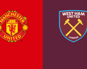 Manchester United 0-0 West Ham United, h.u. 1-0